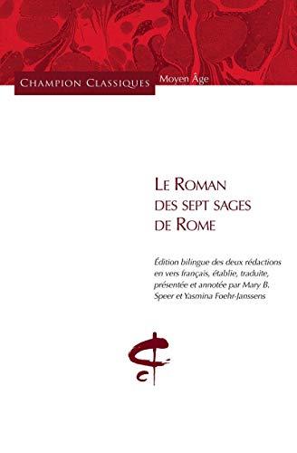 Le roman des sept sages de Rome par Mary blakely Speer, Yasmina Foehr-janssens