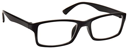 Schwarz Kurzsichtig Fernbrille Für Kurzsichtigkeit Designer Stil Herren Frauen M92-1 Dioptrien -1,50