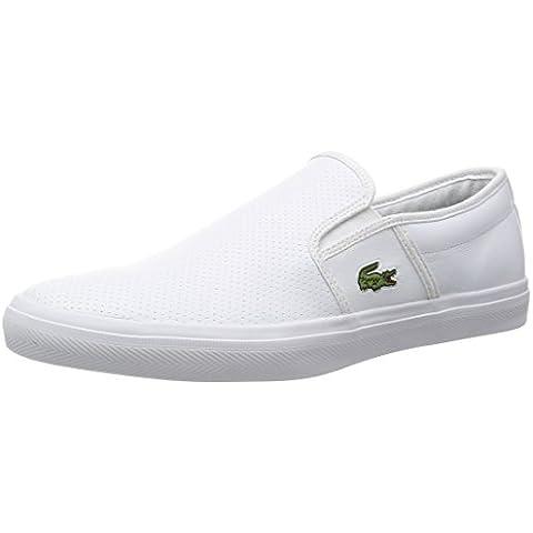 Lacoste - Zapatillas para hombre Hueso blanco