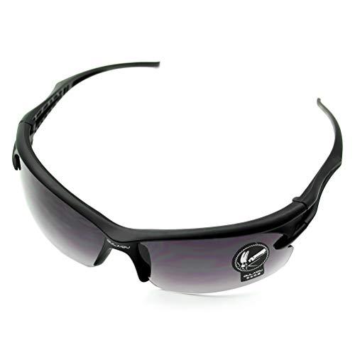 Weesey UV400 HD Polarisierte Sonnenbrille Fahrende blendfreie Sonnenbrille Sport Tag-Nachtsicht Sonnenbrille