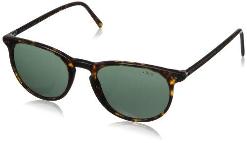 Polo Ralph Lauren Herren Sonnenbrille 4044, Gr. 52 mm, Dark Havana/Grau grün