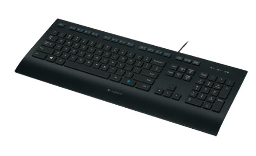 LOGITECH Corded Keyboard K280e Pan Nordic layout (Amazon Basics Tastatur Ps2)