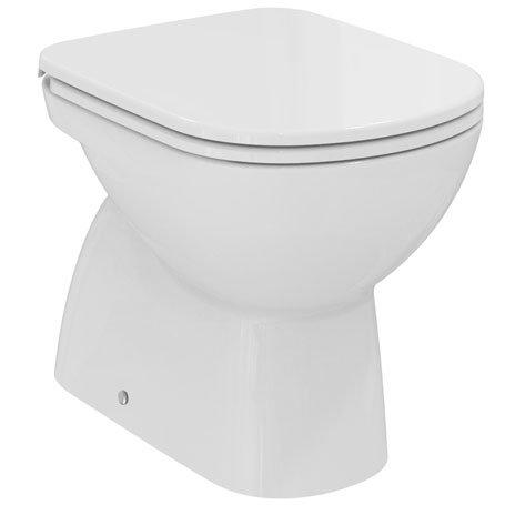 Dolomite serie gemma 2 j522101 vaso terra scarico verticale uni senza sedile finitura bianco