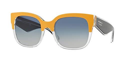 BURBERRY Damen-Sonnenbrille, quadratisch, 56 mm