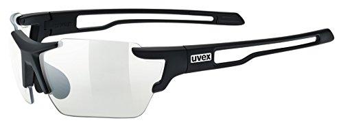 Uvex Erwachsene Sportstyle 803 small vario Sportbrille, black mat, One Size