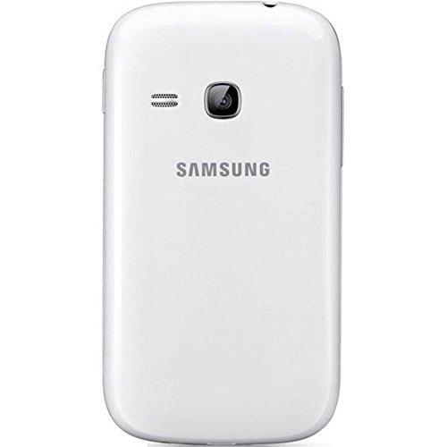 Samsung EF-PS631B - Funda para móvil Galaxy Young (Revestimiento de goma), color blanco