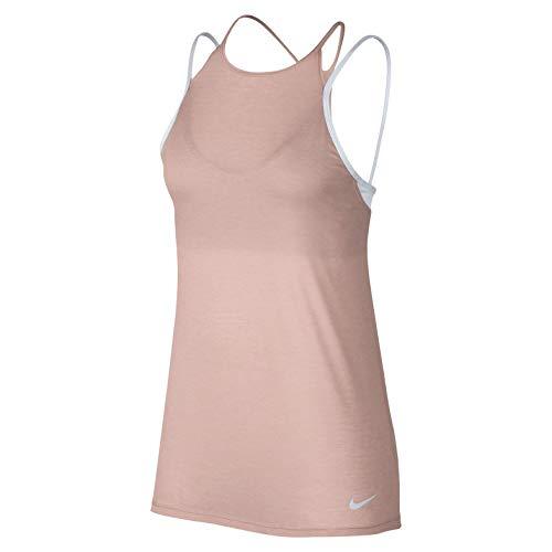 Nike Damen Dry Tank Sport SPS18 Women Tops, rosa, M Preisvergleich
