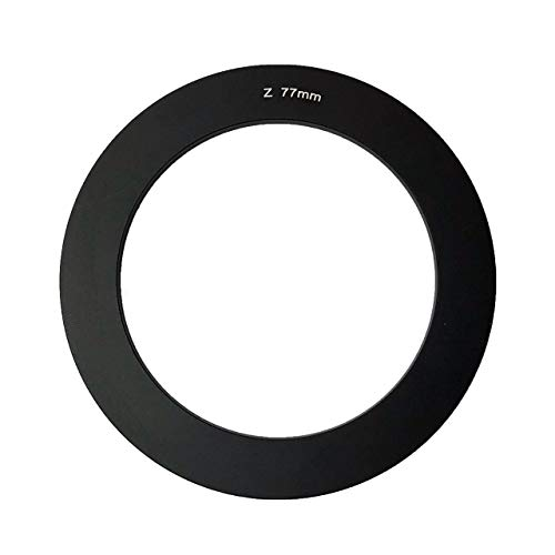 Zomei Bague d'Adaptation Diamètre 77 mm Noir Métal pour Lentille
