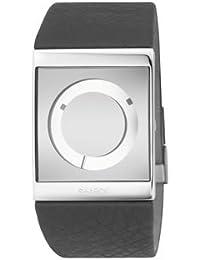Philip Starck Philippe Starck - Reloj digital de cuarzo para mujer con correa de nylon, color verde
