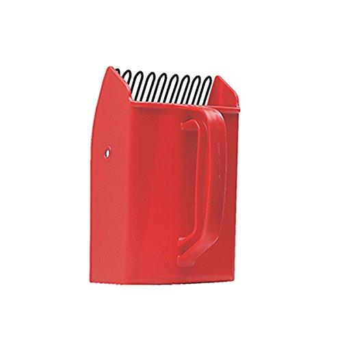 Yoocook YC90281 Peigne à Myrtilles Grand Modèle Rouge