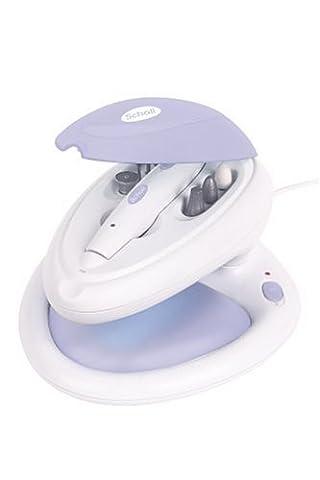 Scholl DR0005E UV Nagelstudio mit Pedi- u. Manicure-Set