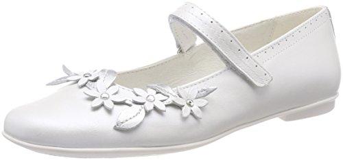 Primigi Mädchen Pfr 14367 Geschlossene Ballerinas, Bianco (Bianco), 35 EU