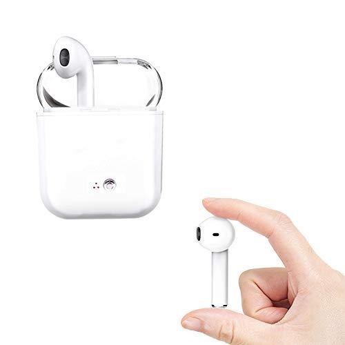 Cuffie Bluetooth senza fili , Microfono stereo con microfono integrato Sweatproof a cancellazione di rumore per Android, Samsung, Huawei e altri dispositivi