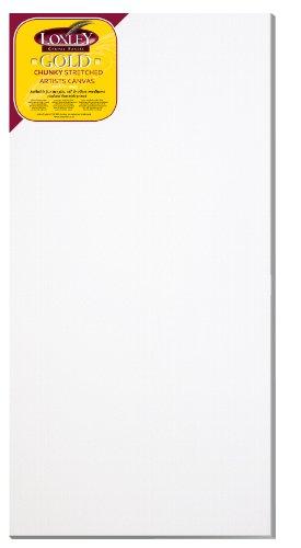Loxley Gold LCC-4824 - Lienzo preestirado, Color Blanco