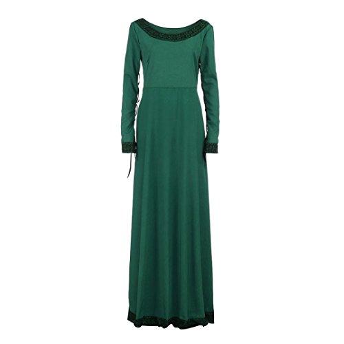 Imagen de sonnena womens dress mujer vintage medieval vestido cosplay disfraz princesa renacimiento gótico vestido casual vestido alternativa