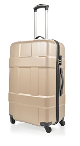 Potiron Take Off Valise Weekend, 58 cm, 63 L, Champagne