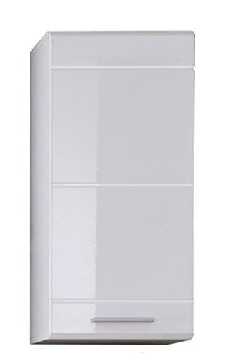 Maisonnerie 1312-502-10 Xpress Placard Murale de Salle de Bain Fr/êne Gris//Blanc LxHxP 40 x 80 x 23 cm