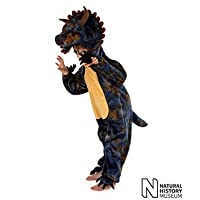 Pretend to Bee Natural History Museum Triceratops Fancy Dress Costume (Official Licensed)