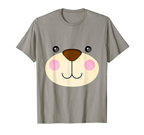 Lustiger Bär - Kostüm Halloween Weihnachten Geschenk Mutter T-Shirt (Bär Kostüm Frauen)