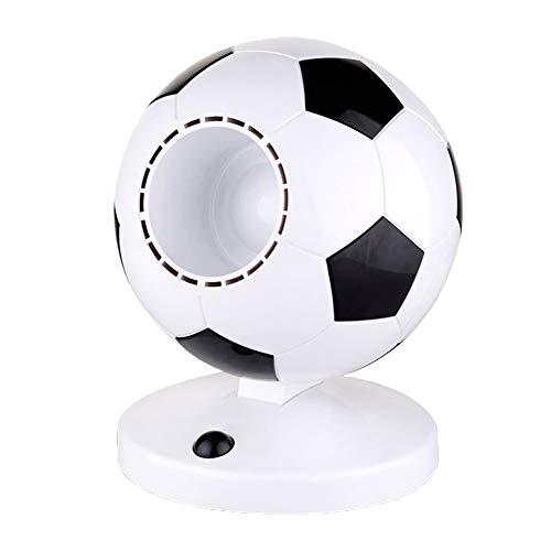 Luoartsu USB Ventilator Mini Bladeless Fan, Fußball Form Portable Silent Desk Fan Kühler Klimaanlage Mute Super Wind für Schlafzimmer, Studentenwohnheim, Büro für Büro, Zuhause,Studium, Bibliothek