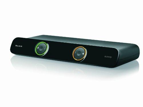 Belkin New SoHo 2-Port KVM Umschalter, USB, VGA, inkl. 1,8 m Kabel