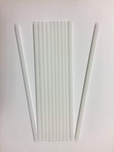 Minima: Pajitas 100% compostables PLA a Granel, de 6mm x 210 mm (2000)