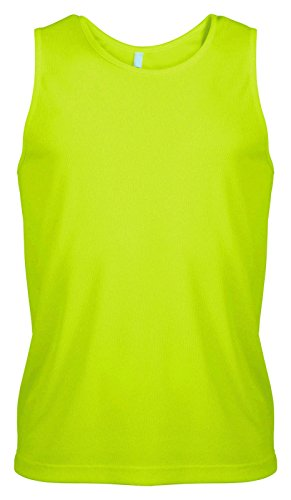 Mens Quick Dry Breathable Sports Running Jogging Fitness Vest