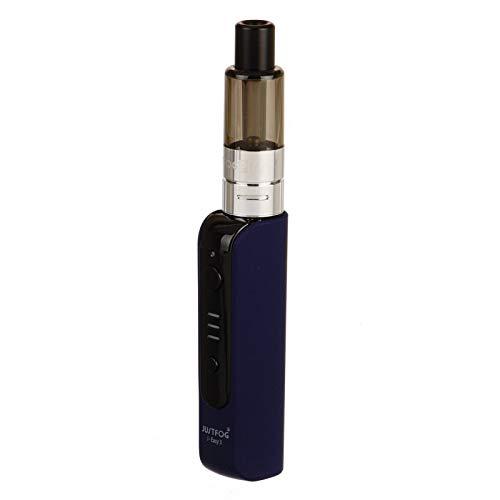 JUSTFOG P16A VV Wiederaufladbare Starter Kit 900mAh mit J-Easy 3 Batterie und 1.9ml P16A Clearomizer, Bottom Filling Design E-Zigarette, Nikotinfrei, Kein E-Liquid (Blau)
