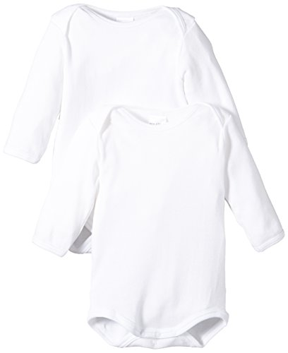 Schiesser Baby - Jungen Body 2 er Pack 220154-100, Weiß (100-weiss ), 86 (1Y)