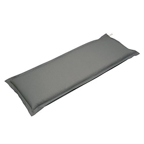 Indoba Bankauflage, 'Premium' - extra dick - Serie Premium, grau, 120 x 45 x 9 cm, IND-70423-AUGB2