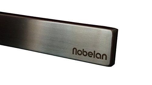 Nobelan Edelstahl Magnetischer Messerhalter Magnetleiste Messerblock zum Aufhängen, Ordnen und Aufbewahren von Küchenutensilien