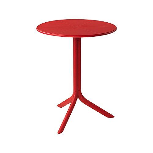 Gartentisch / Bistrotisch Spritz Mini Kunststoff rot Ø60,5cm