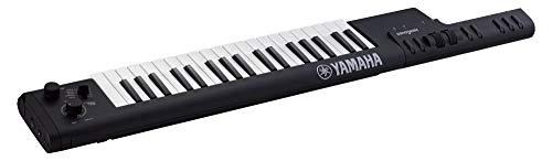 Yamaha Digital Keyboard Sonogenic SHS-500B, schwarz - Tragbares Umhänge-Keyboard mit Midi-Anschluss, USB & Bluetooth - KeyTar mit Jam-Funktion