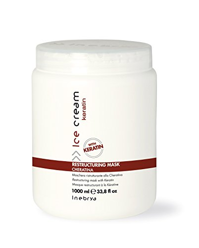 Inebrya Ice Cream Restructuring Mask Cheratina - 1000 ml