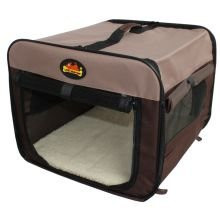 Lazy Bones Lightweight Canvas Fabric Portable Pet Carrier Bed | X Large