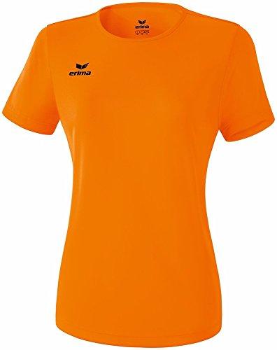 Erima Damen Funktions Teamsport T-Shirt orange, 38
