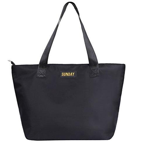Modo Lo Spalla Leggera Proof Donna Spalla Per Shopping A Bag Scolastici Nylon Viaggi Splash Ragazze Borsa Di Tote Water I handbag 1KJFcl