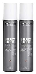 2er Starker Haarlack Goldwell Stylesign Perfect Hold Sprayer 300 ml