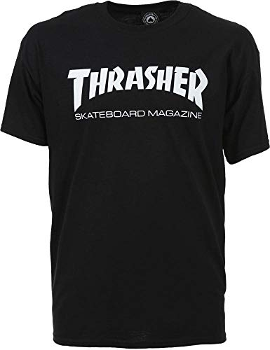 Trasher skatemag t-shirt black (l)