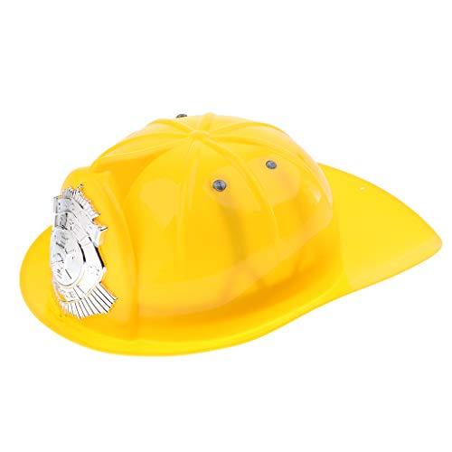 B Blesiya Feuerwehrmann Hüte Mütze Spielzeug - Gelb