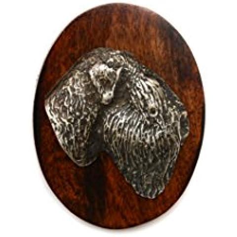 Terrier ruso negro, Clip de perro, clip de anillo/número titular, edición limitada, ArtDog