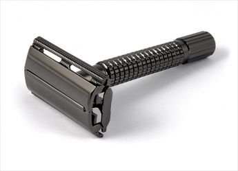 Rasoir Double Lame Canne fusil 80 mm