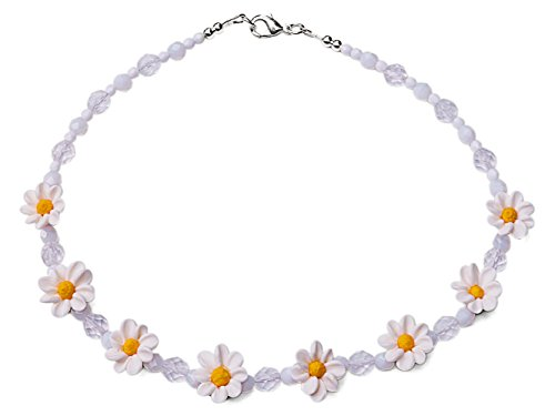white-polymer-daisy-fashion-costume-44-cm-beaded-necklace