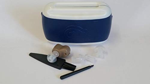Ein WLAN-In-The-Ohr-Hörgerät USB Charge Alter Mann oder mittelschwerer bis schwerer Hearing Aids- Der Ton kann High Low, links eingestellt werden und das rechte Ohr Universeller