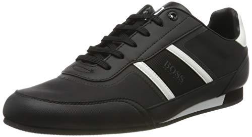 BOSS Herren Lighter_Lowp_nyrs Sneaker, Schwarz (Black 1), 39 EU