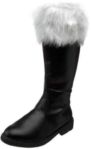 anta-108, Klassische Stiefel, Schwarz (Black BLK), 44 EU (L UK) (Elf Costums)