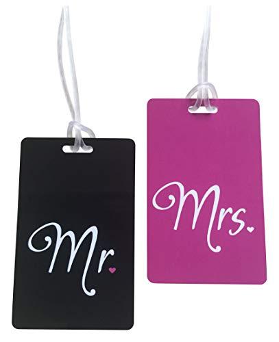 Etiqueta Mr & Mrs   Etiqueta Luna Miel   Honeymoon