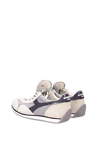 Diadora Heritage Equipe Stone Wash 12, Unisexe Gris Bas Chaussures
