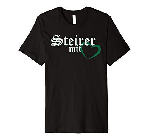 Steiermark Steirer mit Herz Österreich T-Shirt
