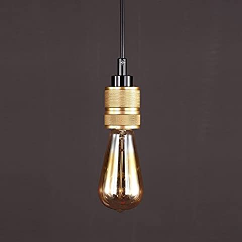 GIlight Loft Industrial Metal Lustres Modern Vintage Ceiling Light, Loft